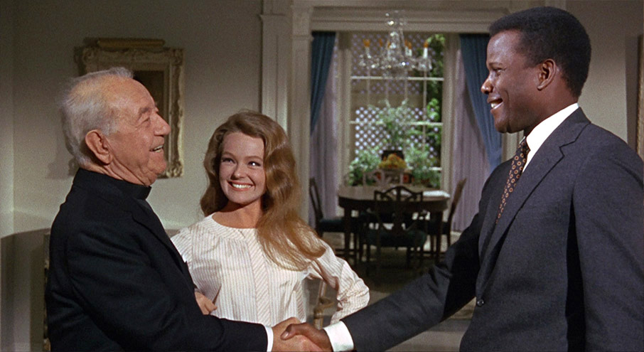 """guess whose coming to dinner In 1967, actress katharine houghton was cast by director stanley kramer in the role of joanna in a movie called """"guess who's coming to dinner"""" she was to play the scion of a newspaper editor on the west coast, a man whose professional liberality was called into question by his own daughter's decision."""